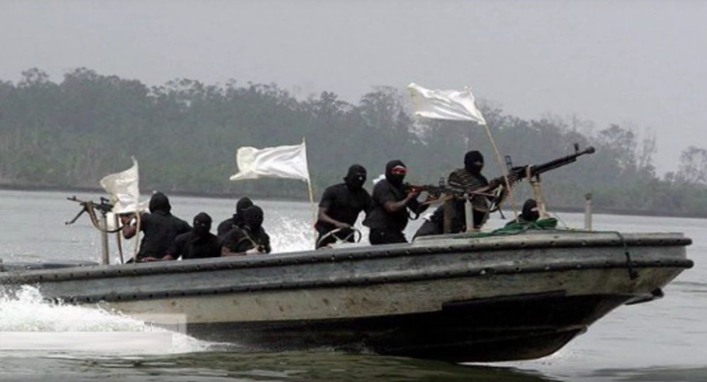 Pirate Attack in Gulf of Guinea
